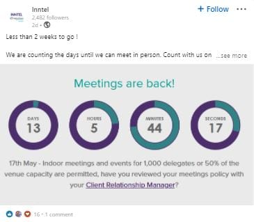 Meetings are back